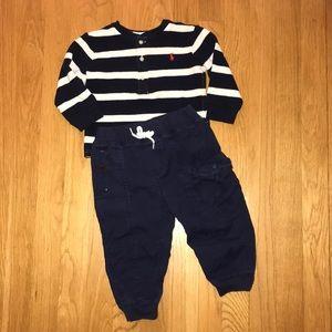 Ralph Lauren toddler Boys outfit
